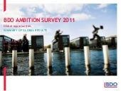 BDO Ambition Survey 2011 - Global o...