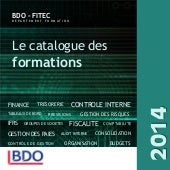 BDO-FITEC catalogue des formations ...