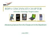 BDPA Cincinnati Chapter Overview (J...