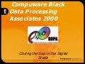 Compuware and BDPA Detroit: Success Story in 2000