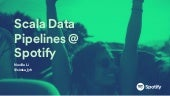 Scala Data Pipelines @ Spotify