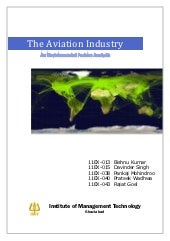 Business Environment - The Aviation Industry - An Environment Factor Analysis