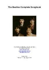 Beatles the complete songbook