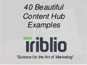 40 Beautiful Content Hub Examples