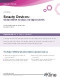NEW EDITION! Beauty Devices:Global Market Analysis and Opportunitie