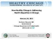 How Healthy Chicago is Addressing D...