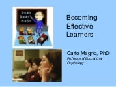 Becoming effective learners