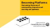 Becoming platforms: Harnessing the ...