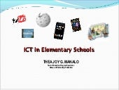 ICT in Elementary Education