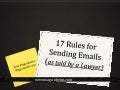 17 Rules for Sending Emails (As Told By A Lawyer)