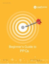 Beginner's Guide to PPCs