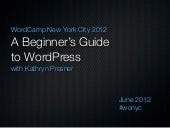 A Beginner's Guide to WordPress - W...