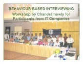 Behavior Based Intervewing Ihrd Wor...