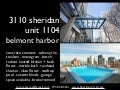 belmont harbor luxury one bed condo for sale