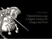 Orlandofurioso.org: a Digital Archive for Texts and Images
