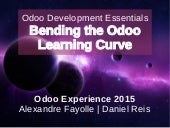 Bending the odoo learning curve - Odoo Experience 2015