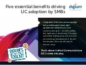 Five Essential Benefits Driving UC ...