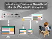 Introducing Business Benefits of Mobile Website Optimization