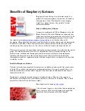 Benefits of raspberry ketones
