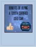 Benefits of Toyota Certified Used Cars in Charlotte