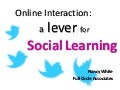 Online Social Learning Practices - Benetec Slides