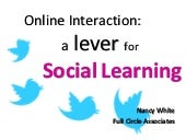 Online Social Learning Practices - ...