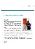 Summer Student Report #4