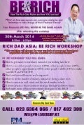 Be rich workshop on 30 march 2014