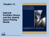 Berk Chapter: 11: Optimal Portfolio...