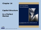 Berk Chapter 14: Capital Structure ...