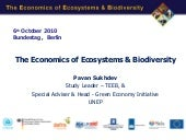 The Economics of Ecosystems & Biodi...