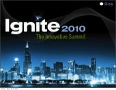 Day: Ignite iPad App - The making o...