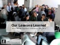 Our Lessons Learned - Berlin Meetup organizer´s Meetup