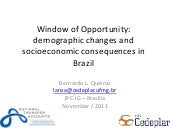 Window of Opportunity: demographic ...