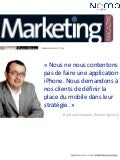 Bertrand jonquois dans le Marketing Magazine, édition septembre 2010