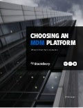 Choosing An MDM Platform: Where To Start The Conversation
