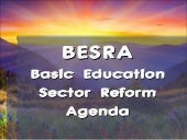 Besra report powerpoint