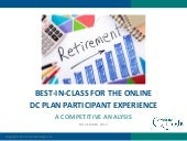 Best-in-Class for the Online DC Pla...