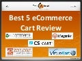 Best 5 eCommerce carts review