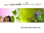 Best Ayurvedic Doctor In India For ...