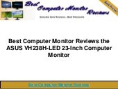Best computer monitor reviews the a...