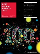 2011 - Top 100 Global Brands