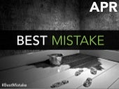 What's The Best Career Mistake You Ever Made?