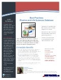 1-Pager: Best Practices Database