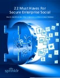 Best Practices for Secure Enterprise Social Media Deployments