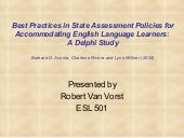 Best practices in state assessment ...