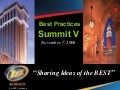 AutoSuccess Best Practices Summit V