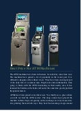 Best price for atm machines
