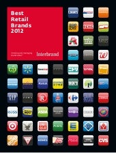 Best Retail Brands 2012, by Interbrand