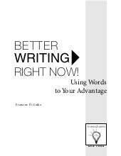 Better writing rightnow